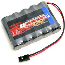 6V NiMH 2000mAh Battery Pack w / Hitec Connector